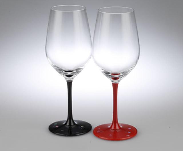 螺鈿(らでん)ワイングラス 桜ペア