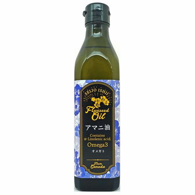 成城石井 カナダ産 アマニ油 (フラックスシードオイル) 270g