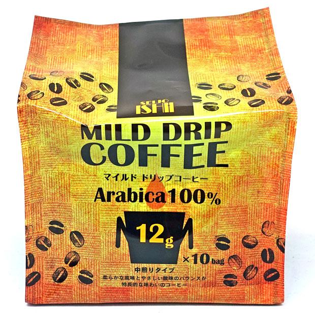 成城石井 マイルド ドリップコーヒー 120g(12g×10袋)【レギュラーコーヒー(粉)】