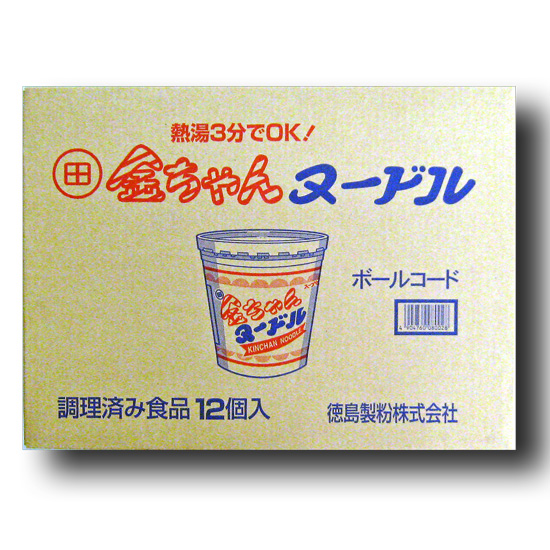 徳島製粉 金ちゃんヌードル 85g×12箱入り