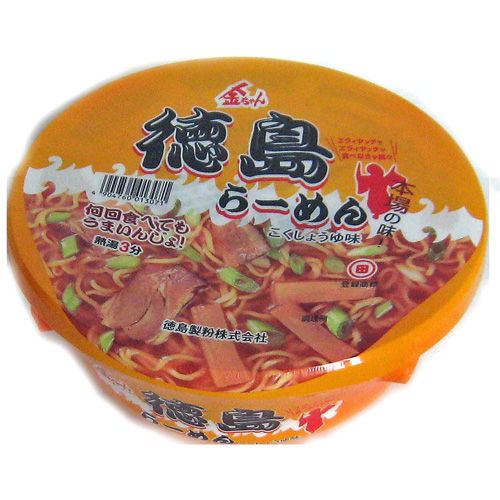 徳島製粉 本場の味 金ちゃん徳島ラーメン 102g