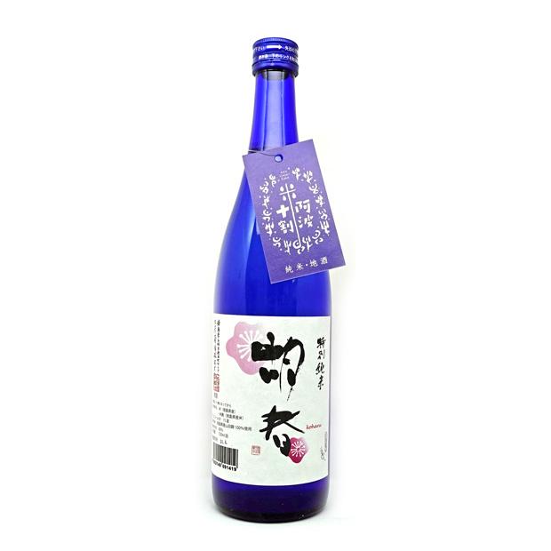 【三芳菊酒造】 特別純米 胡春( 720ml ) 【阿波十割】