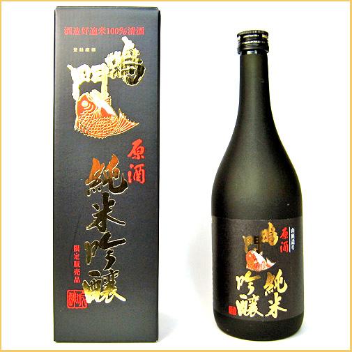 鳴門鯛 純米吟醸 720ml【本家松浦酒造場 】【鳴門鯛】【徳島の地酒】