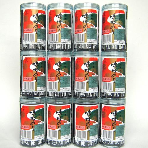 【インターネット限定販売】大野海苔 味付卓上 12本バラ詰め