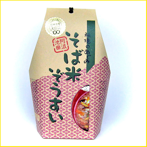 【阿波名産】そば米ぞうすい 5食手提げ