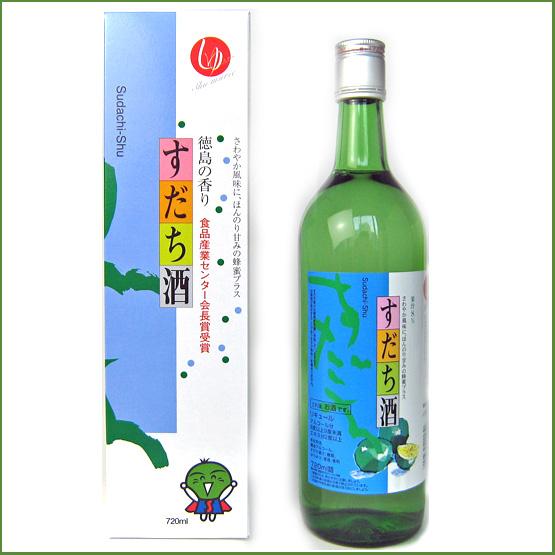 すだち酒 720ml【本家松浦酒造場 】【徳島の地酒】