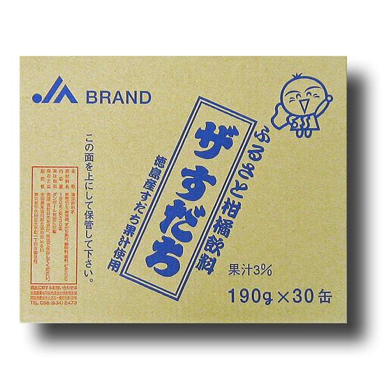 JA ザすだち 190g×30缶
