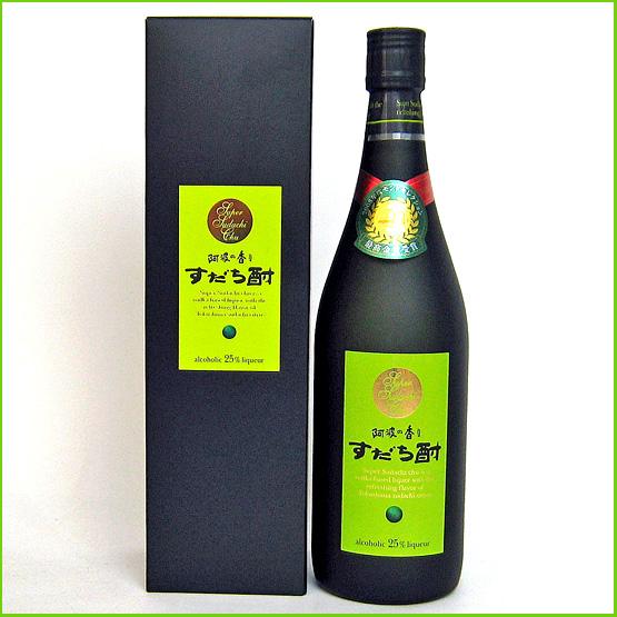 阿波の香り スーパーすだち酎720ml【日新酒類 】