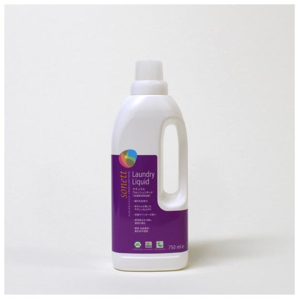 ナチュラルウォッシュリキッド 750ml (洗濯用液体洗剤)のイメージ1