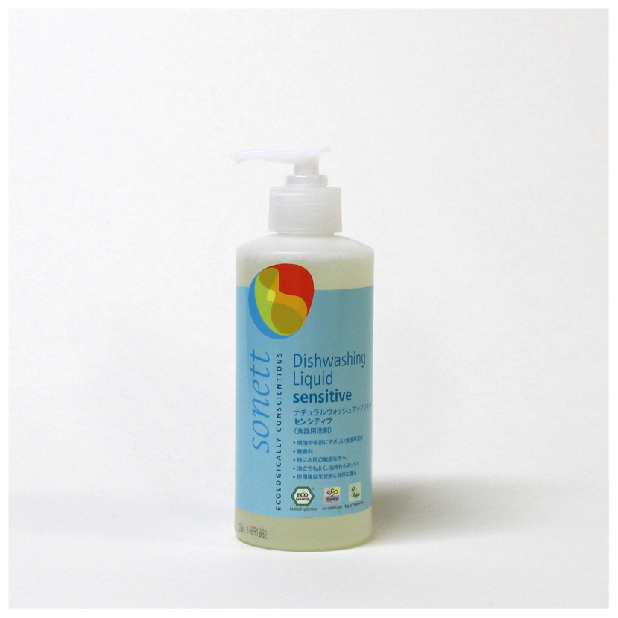 ナチュラルウォッシュアップリキッド センシティブ(食器用洗剤) 300mlのイメージ1
