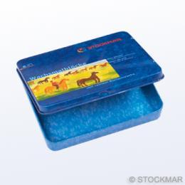 缶ケースのみ ブロッククレヨン8色用のイメージ1