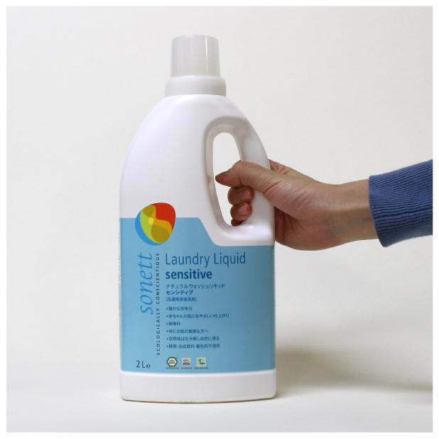 ナチュラルウォッシュリキッド センシティブ 2L (洗濯用液体洗剤)のイメージ3