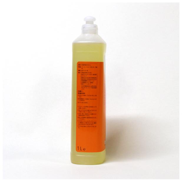 ナチュラルウォッシュリキッド ウール・シルク用(おしゃれ着用液体洗剤) 1Lのイメージ2