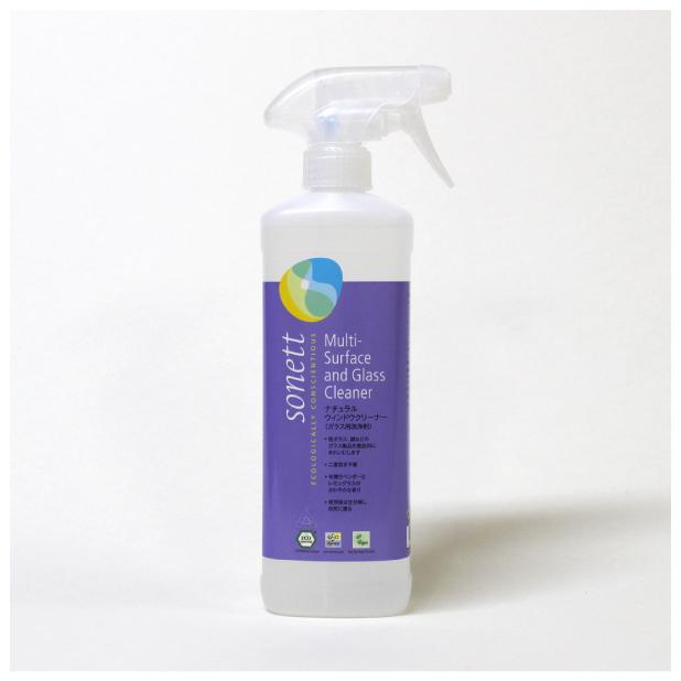 ナチュラルウィンドウクリーナー(ガラス用洗浄剤) 500mlのイメージ1