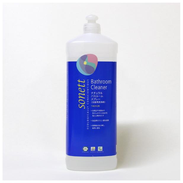 ナチュラルバスルームスプレー(浴室用洗浄剤) 1Lのイメージ1