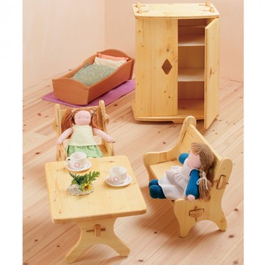 【在庫限り】人形遊び用 クローゼットのイメージ1