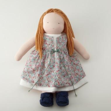 着せ替え人形(中)女の子 茶髪 キット (くつ付き)のイメージ1