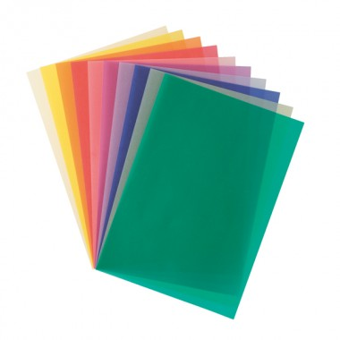 トランスパレント 10色10枚(厚)のイメージ1