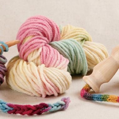草木染め中太毛糸 パステル色のイメージ1