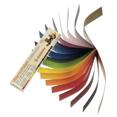 デコレーションワックス  18色セット(小)のイメージ1