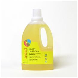 ナチュラルウォッシュリキッドカラー(色柄物用洗剤)1.5Lのイメージ1