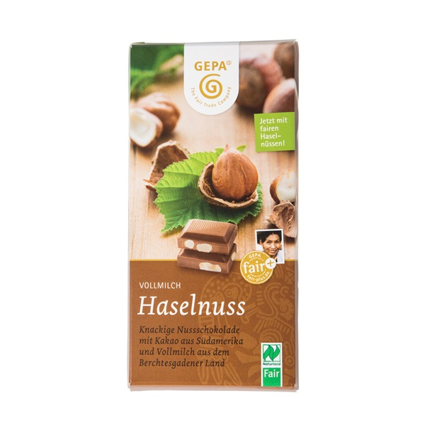 ビオ ヘーゼルナッツミルクチョコレート  GP8951805