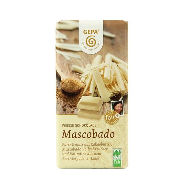 ビオ マスコバドホワイトチョコレート  GP8961810