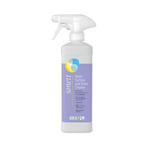 ナチュラルウィンドウクリーナー(ガラス用洗浄剤)500ml |SNN3610