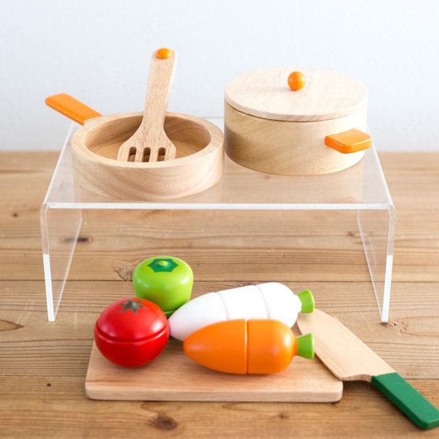 木製調理用具セット&お野菜サクサクセット