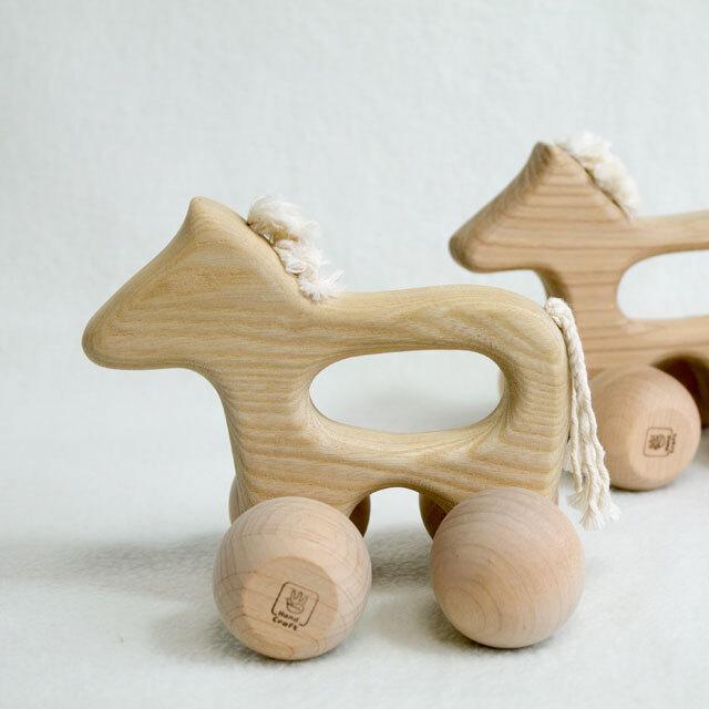 リラころ うま 木製