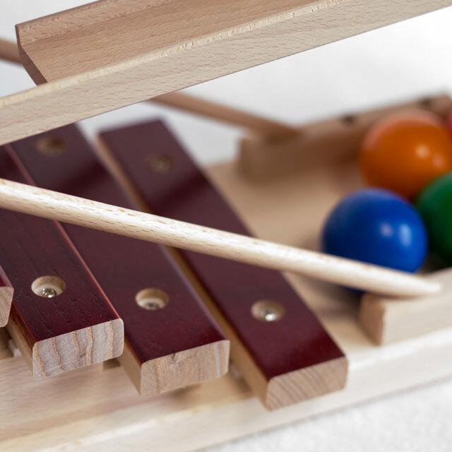 音がなる木琴のようなスロープ