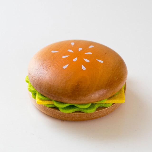 ハンバーガー おもちゃの食材