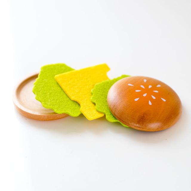 バンズ・チーズ・レタスセット