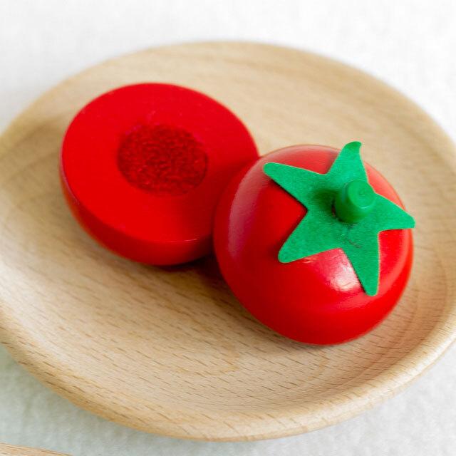 ミニ・トマト 木製