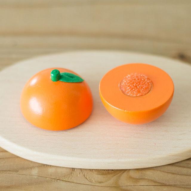 オレンジ切った断面