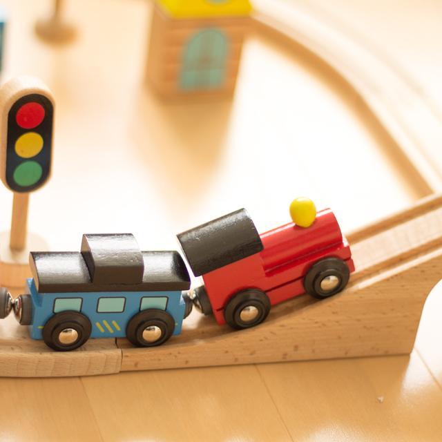 おもちゃのだいわ汽車