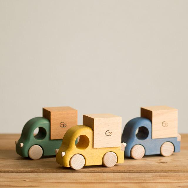 付属の木製トラック3種類