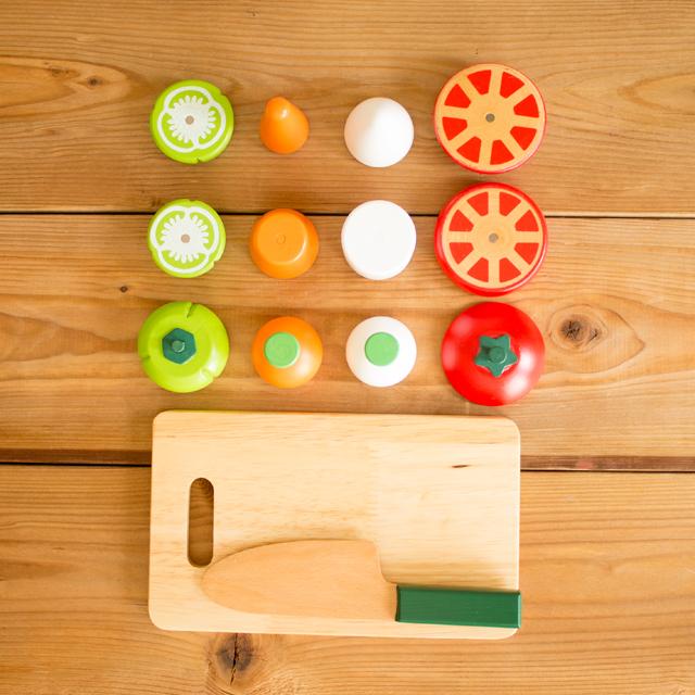木製調理用具+お野菜セット