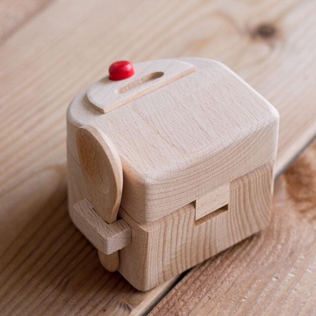 炊飯器 木製