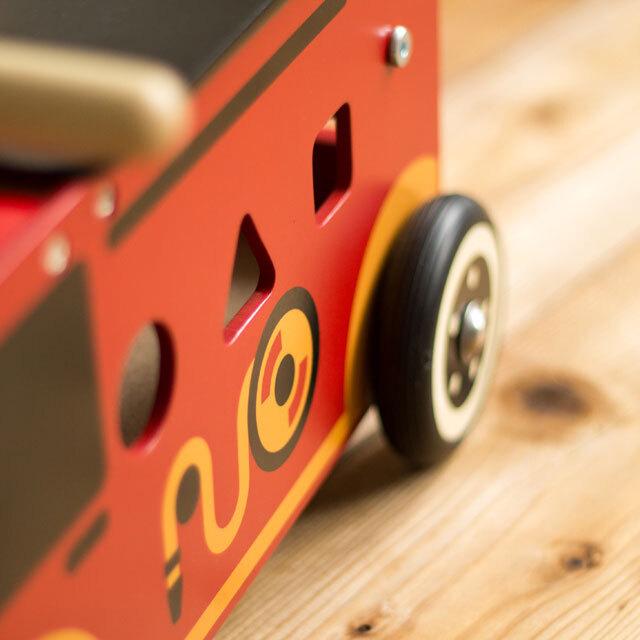 ウォーカーアンドライド消防車安全タイヤ