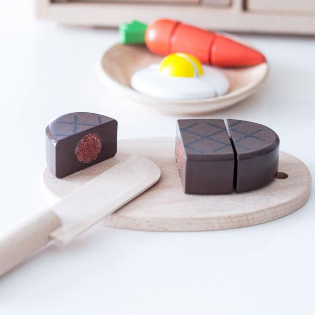 ミニ・ハンバーグ 木製