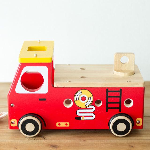 アクティブ消防車 座面
