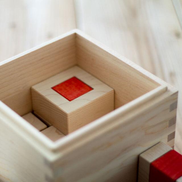 クビコロクアドロ木箱