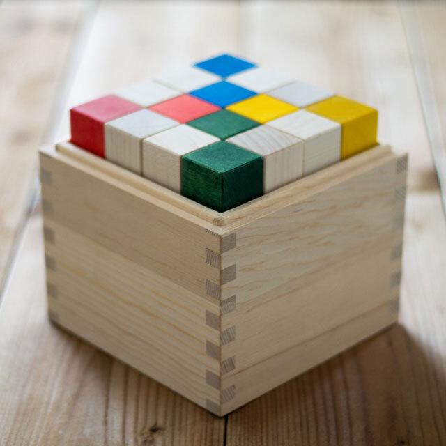 クビコロベース木箱