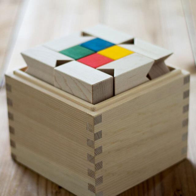 トリアンゴロ木箱