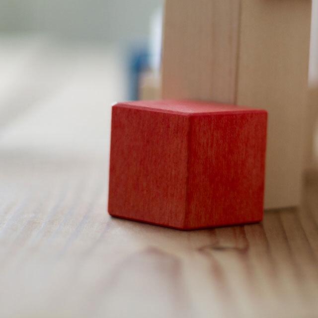 クビコロベースパーツ正方形赤