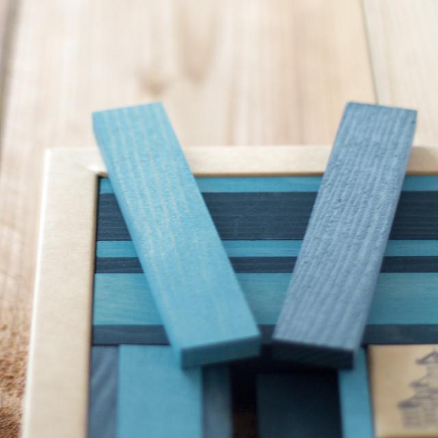 青・水色ブロック