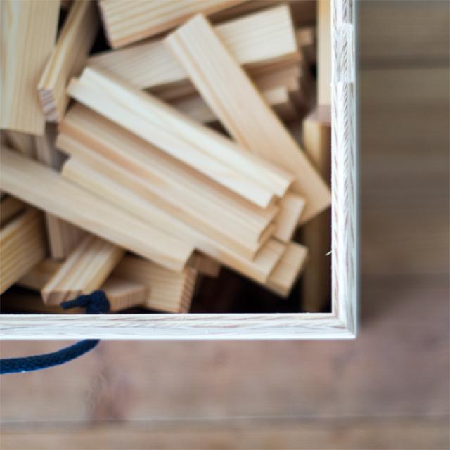 専用木箱上からの様子