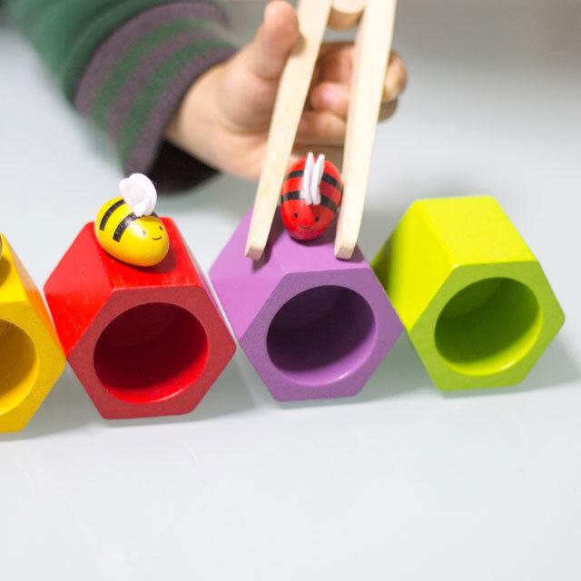 ビーハイブで遊ぶ子供3