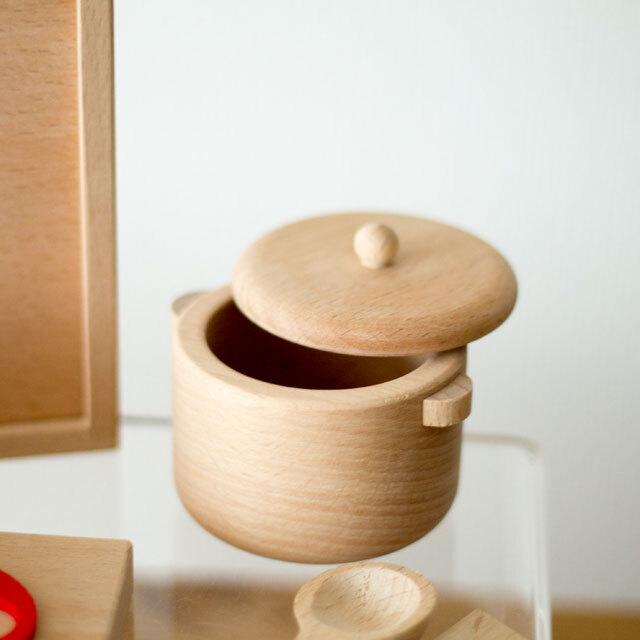 付属品 蓋付き鍋